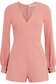 Kourtney crepe playsuit at The Outnet