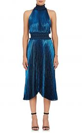 Kravitz Lamé Halter Dress at Barneys