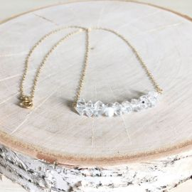 KristynReneeJewelry Herkimer Diamond Necklace at Etsy
