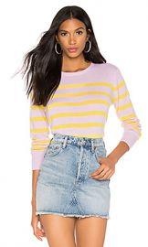 Kule The Skate Sweater in Pink  amp  Lemon from Revolve com at Revolve