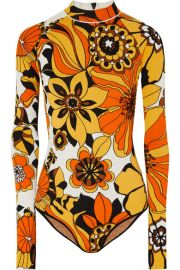 Kwaidan Editions - Floral jacquard-knit bodysuit at Net A Porter