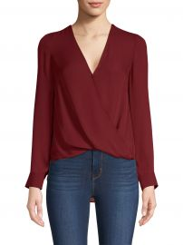 Kyla Draped Blouse at Saks Fifth Avenue