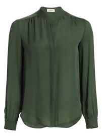 L  039 Agence - Bianca Silk Blouse at Saks Fifth Avenue