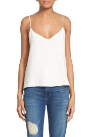 L  x27 AGENCE   x27 Jane  x27  Silk Tank   Nordstrom at Nordstrom