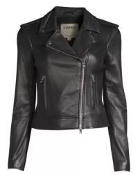 L\'Agence The Biker Jacket at Saks Fifth Avenue