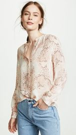 L  039 AGENCE Bardot Blouse at Shopbop