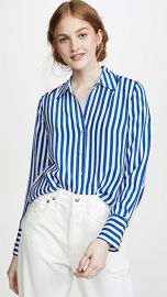 L  039 AGENCE Brielle Long Sleeve Blouse at Shopbop