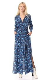 L  039 AGENCE Cameron Long Shirtdress at Shopbop