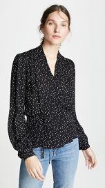 L  039 AGENCE Cara Wrap Blouse at Shopbop