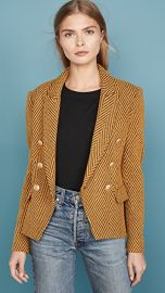 L  039 AGENCE Kenzie Double Breasted Blazer at Shopbop