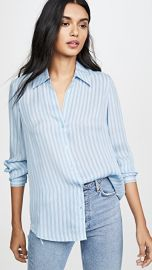 L  039 AGENCE Nina Long Sleeve Blouse at Shopbop