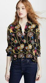 L  039 AGENCE Nina Long Sleeve Blouse at Shopbop