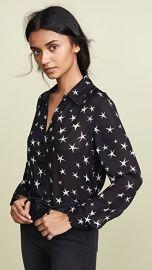 L  039 AGENCE Nina Silk Blouse at Shopbop
