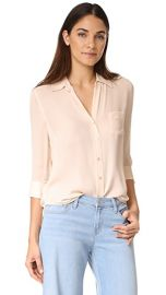 L  039 AGENCE Ryan 3 4 Sleeve Blouse at Shopbop