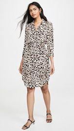 L  039 AGENCE Stella Short Shirt Dress at Shopbop