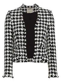 L  039 Agence - Adette Houndstooth Jacket at Saks Fifth Avenue