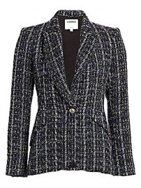 L  039 Agence - Camberlain Tweed Blazer at Saks Fifth Avenue