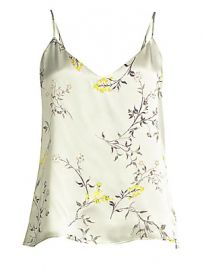 L  039 Agence - Jane Silk Floral Camisole at Saks Fifth Avenue