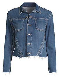 L  039 Agence - Janelle Denim Jacket at Saks Fifth Avenue
