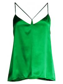 L  039 Agence - Kaylee Satin Racer Camisole at Saks Fifth Avenue