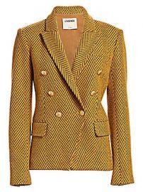 L  039 Agence - Kenzie Tweed Blazer at Saks Fifth Avenue