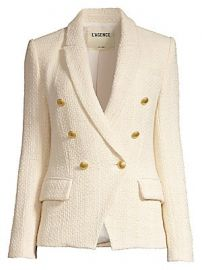 L  039 Agence - Kenzie Tweed Blazer at Saks Fifth Avenue