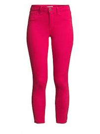 L  039 Agence - Margot High-Rise Ankle Skinny Jeans at Saks Fifth Avenue