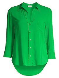L  039 Agence - Ryan Three-Quarter Sleeve Blouse at Saks Fifth Avenue