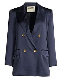 L  039 Agence - Taryn Charmeuse Blazer at Saks Fifth Avenue