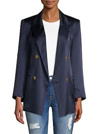 L  039 Agence - Taryn Charmeuse Blazer at Saks Off 5th