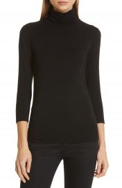 L  x27 AGENCE Aja Jersey Turtleneck Top   Nordstrom at Nordstrom