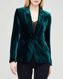 L  x27 AGENCE Chamberlain Velvet Blazer Women - Bloomingdale s at Bloomingdales