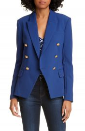 L  x27 AGENCE Kenzie Double Breasted Blazer   Nordstrom at Nordstrom