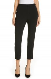 L  x27 AGENCE Ludivine Crease Front Crop Trousers   Nordstrom at Nordstrom