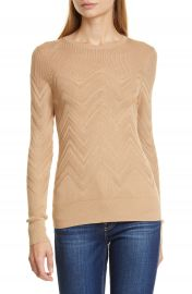 L  x27 AGENCE Suka Chevron Sweater   Nordstrom at Nordstrom