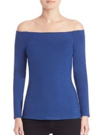 L AGENCE - Cynthia Off-The-Shoulder Top at Saks Fifth Avenue