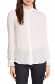 L AGENCE Carla Silk Blouse at Nordstrom