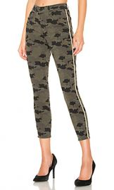 L AGENCE Margot High Rise Skinny in Camo Stone from Revolve com at Revolve