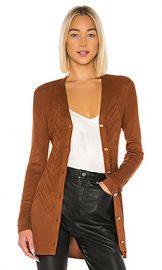 L AGENCE Millie Cardigan in Spice from Revolve com at Revolve