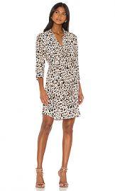 L AGENCE Stella Short Shirt Dress in Abstract Quartz Multi from Revolve com at Revolve