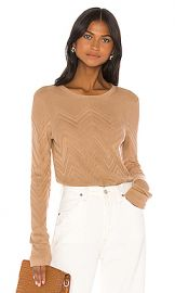 L AGENCE Suka Sweater Pullover in Trench from Revolve com at Revolve