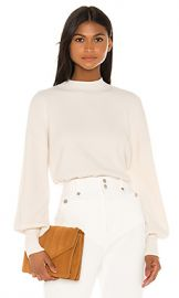 L Academie Lumi Sweater in Cream from Revolve com at Revolve