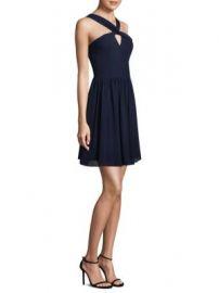 L Agence - Valetta Silk Mini Dress at Saks Fifth Avenue