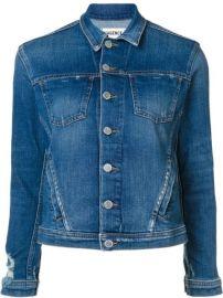 L Agence Buttoned Denim Jacket - Farfetch at Farfetch