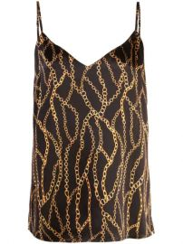 L Agence Chain Print Camisole Top - Farfetch at Farfetch
