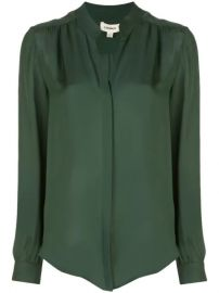 L Agence Concealed Front Blouse - Farfetch at Farfetch