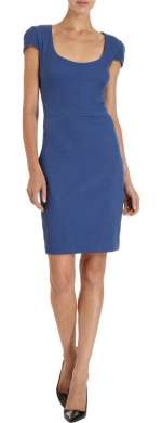 L Agence Fitted Dress at Barneys Warehouse