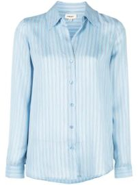 L Agence Striped Shirt - Farfetch at Farfetch