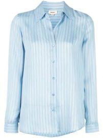 L Agence Striped Shirt - Farfetch at Farfetch