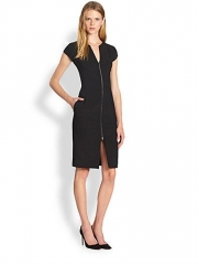 L Agence Zip Front Dress at Saks Fifth Avenue